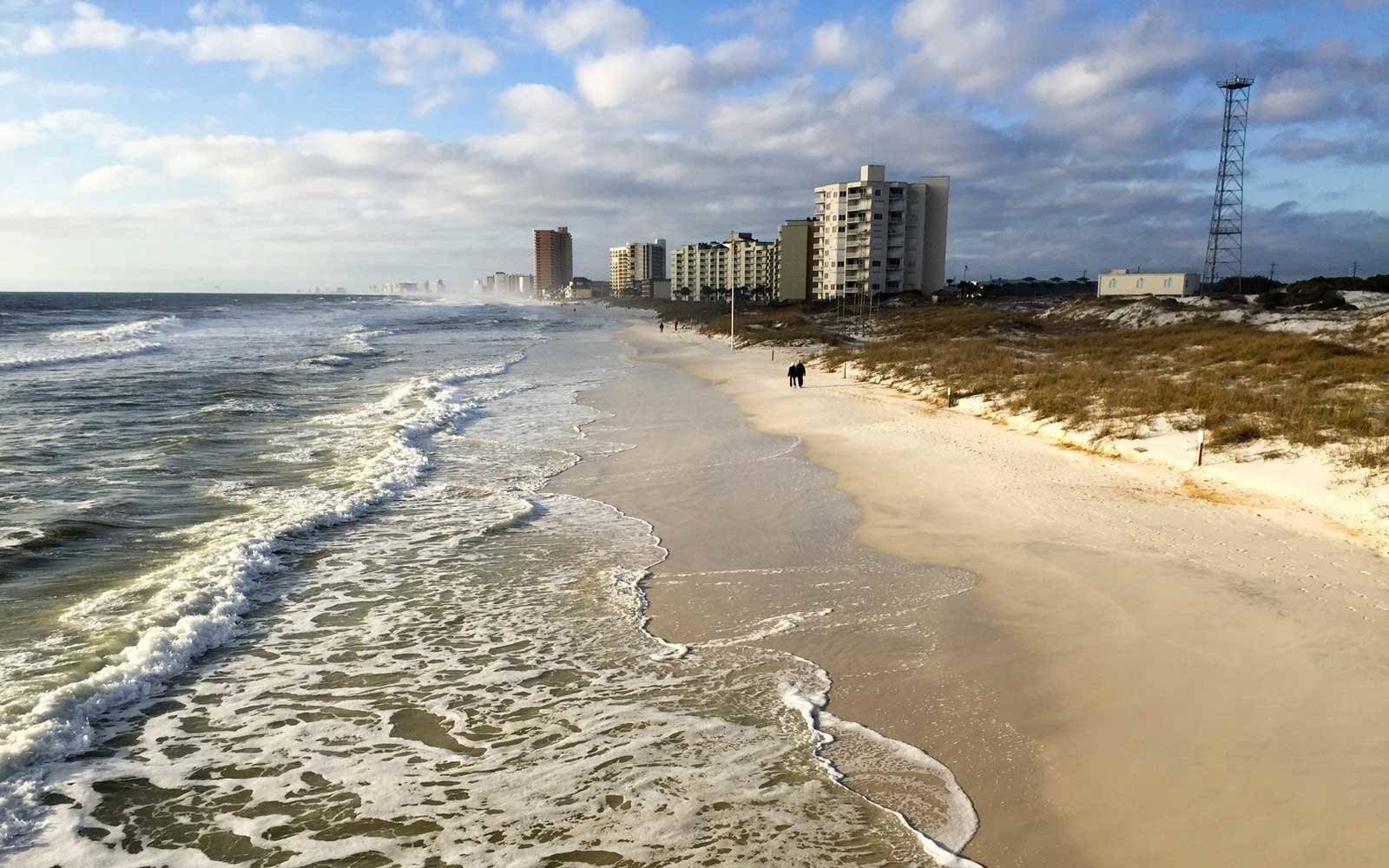 St. Andrews State Park in Pensacola Beach, Fla., one of the highlight beaches of the Florida panhandle.