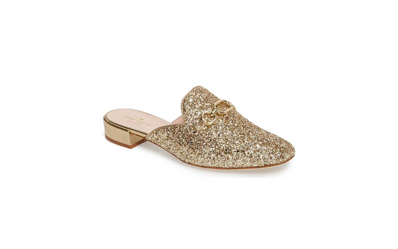 Kate Spade New York Glendi Mule in Gold