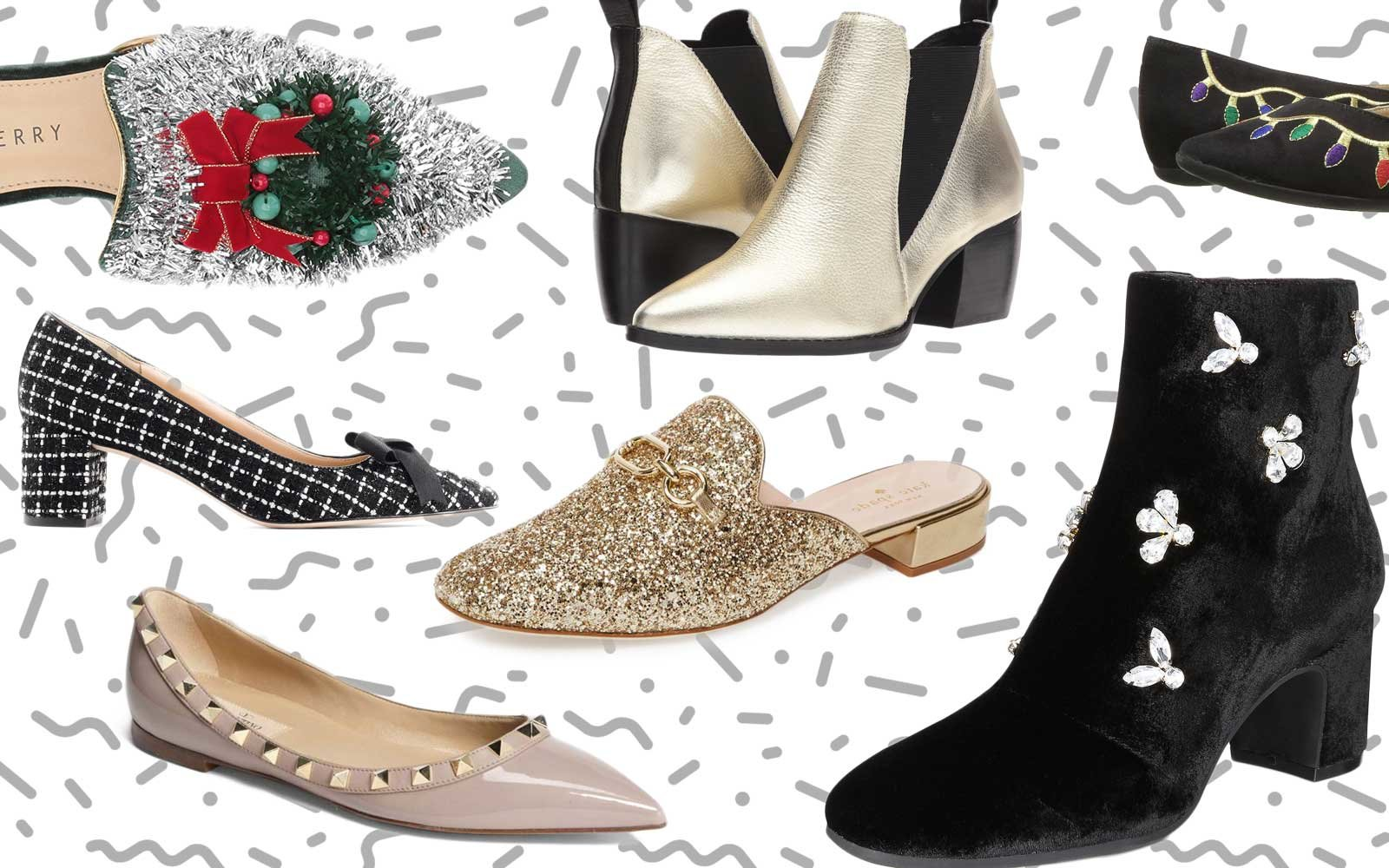 Comfy Holiday Party Shoes