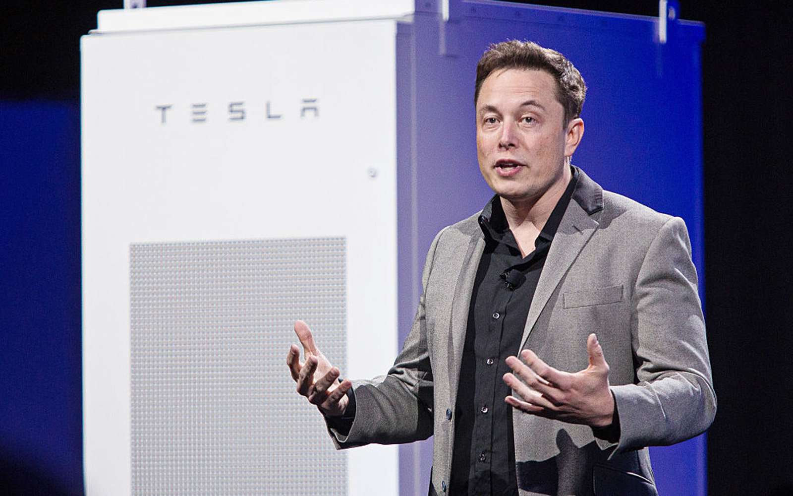 Tesla Motors Inc. Chief Executive Officer Elon Musk Unveils New Generation Of Batteries