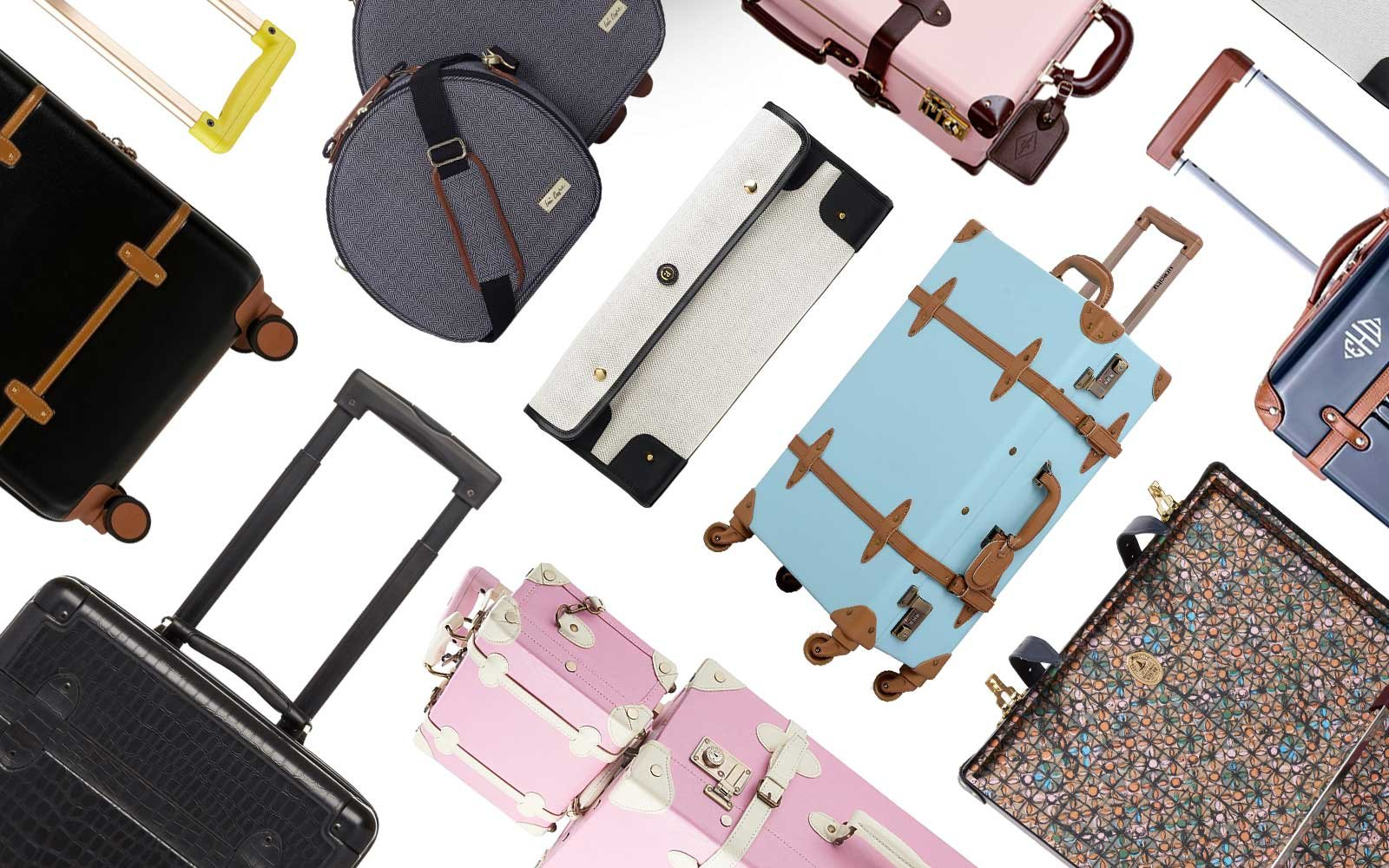 2e409a3eb6 The Best Vintage-style Suitcases and Trunks