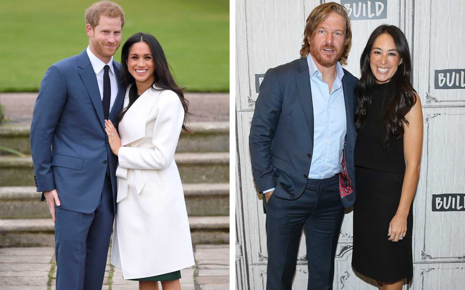 Meghan markle just broke one of the queen 39 s royal fashion for Chip and joanna gaines meet and greet