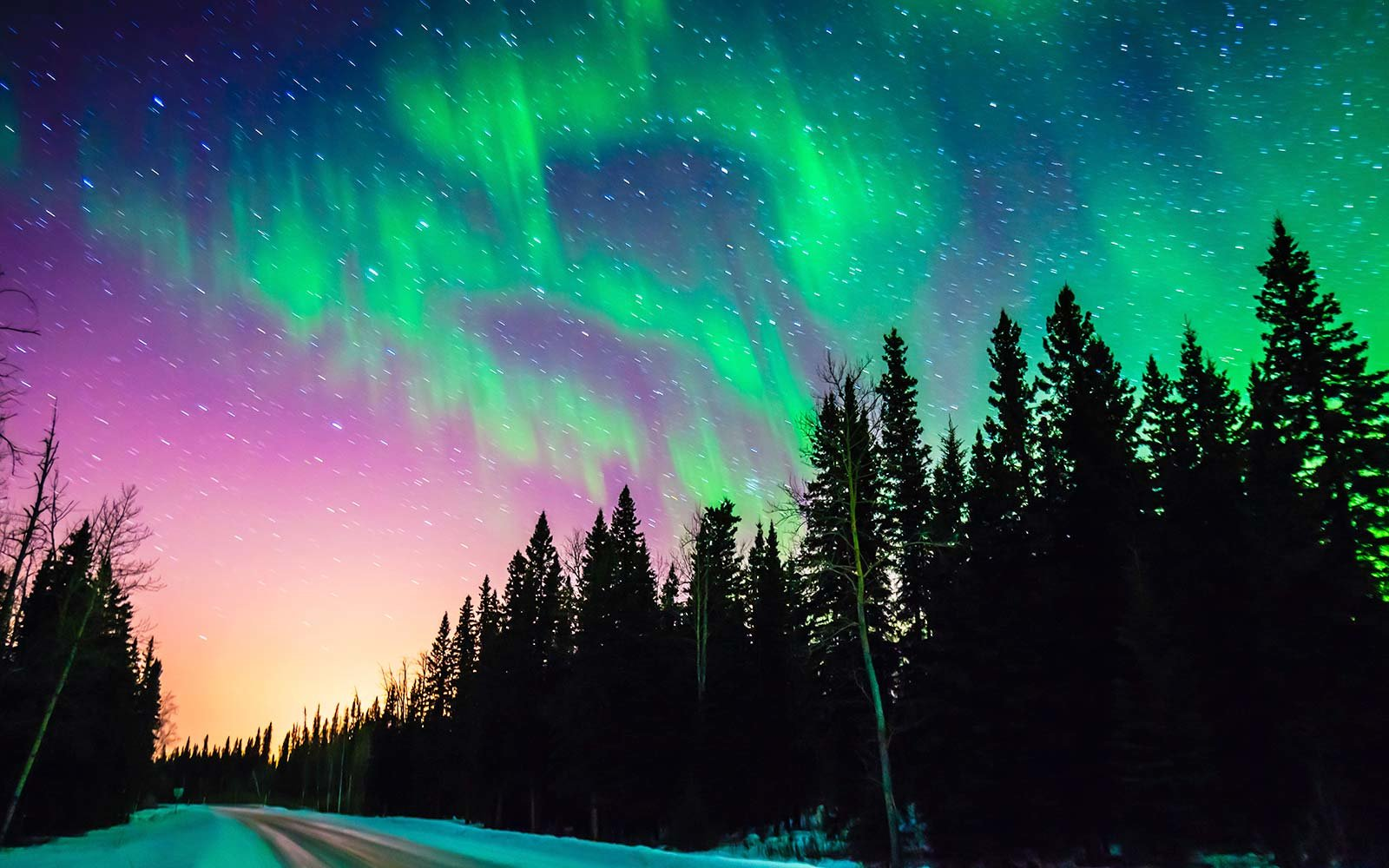 Marvelous Fairbanks Alaska USA Aurora Borealis Northern Lights Amazing Pictures