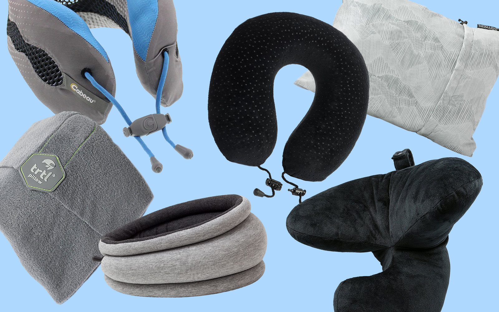 14 Best Travel Pillows Neck Support For The Airplane