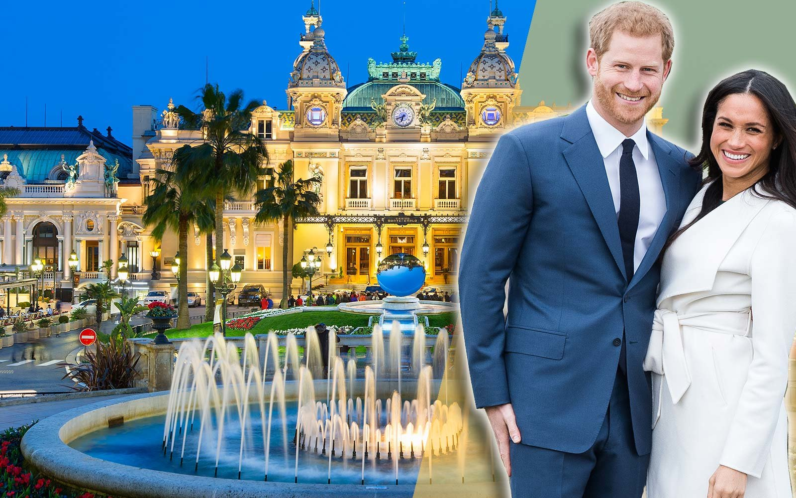 Meghan Markle Prince Harry Royal Monaco