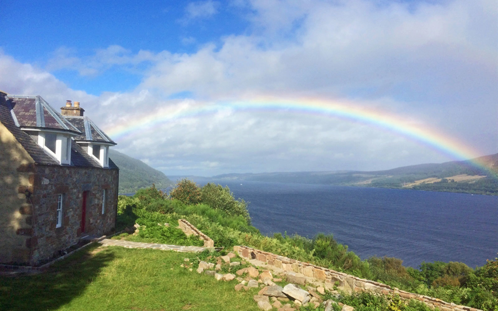 Spot the Loch Ness Monster From Bed in This Cozy Scottish Cottage