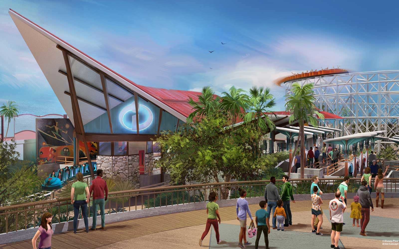 Incredibles themed roller coaster coming to Disney in 2018