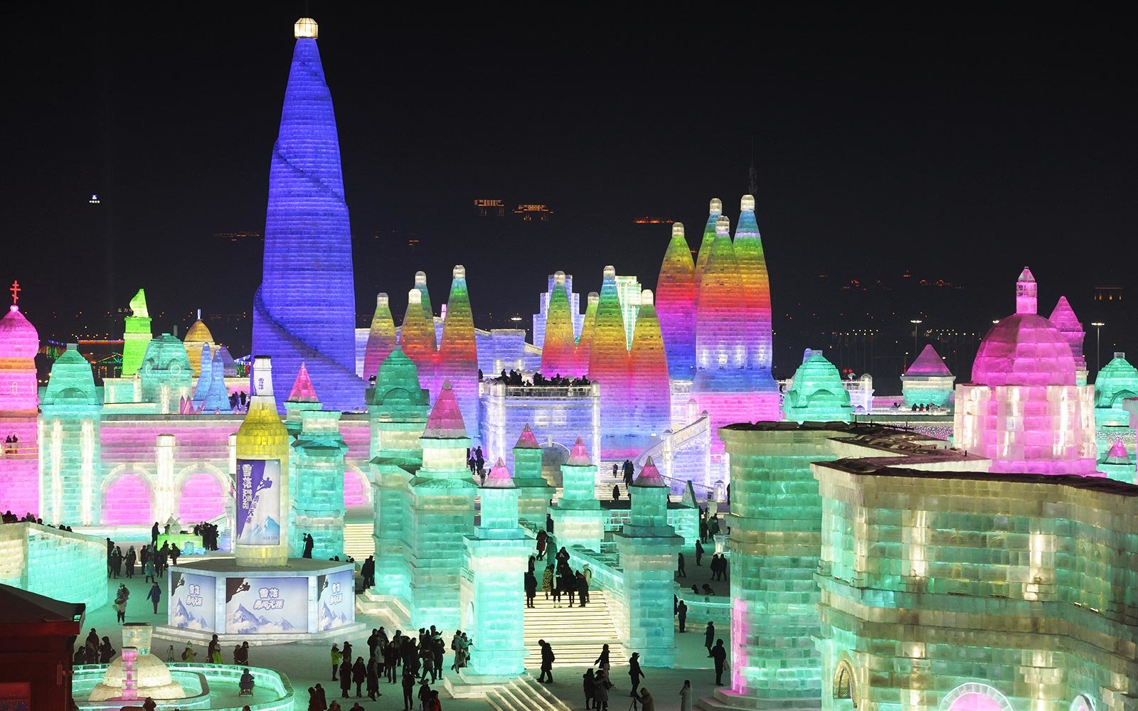 Stunning Photos From The World's Largest Ice Festival