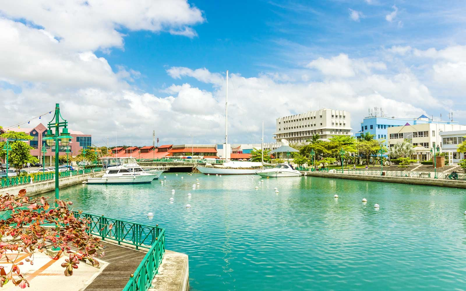 View of Bridgetown Harbour, Barbados
