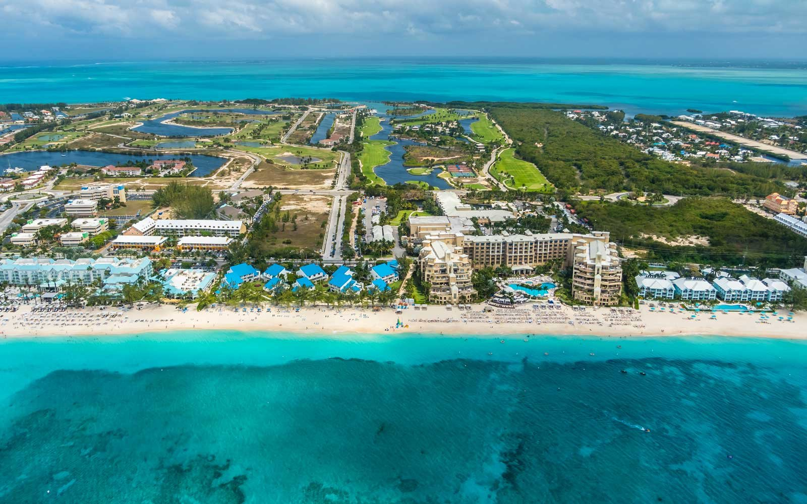 Warm Weather Caribbean, Cayman Islands, George Town, Luxury resorts and Seven Mile Beach