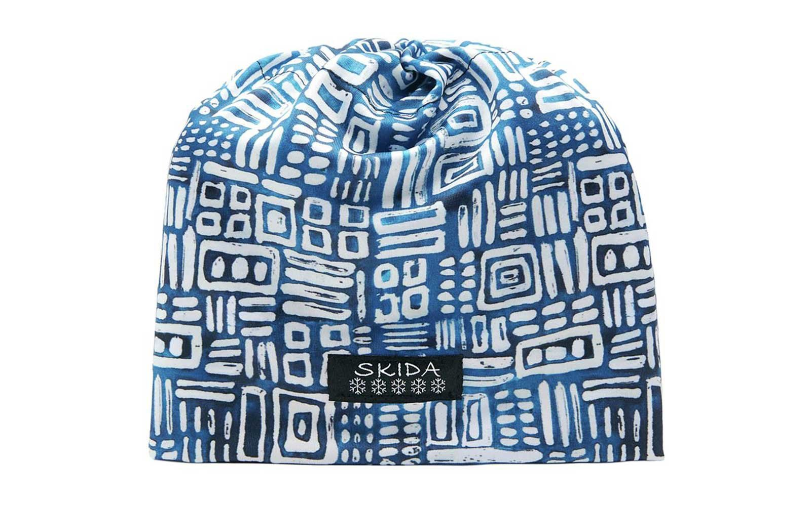Blue print Skida winter hat