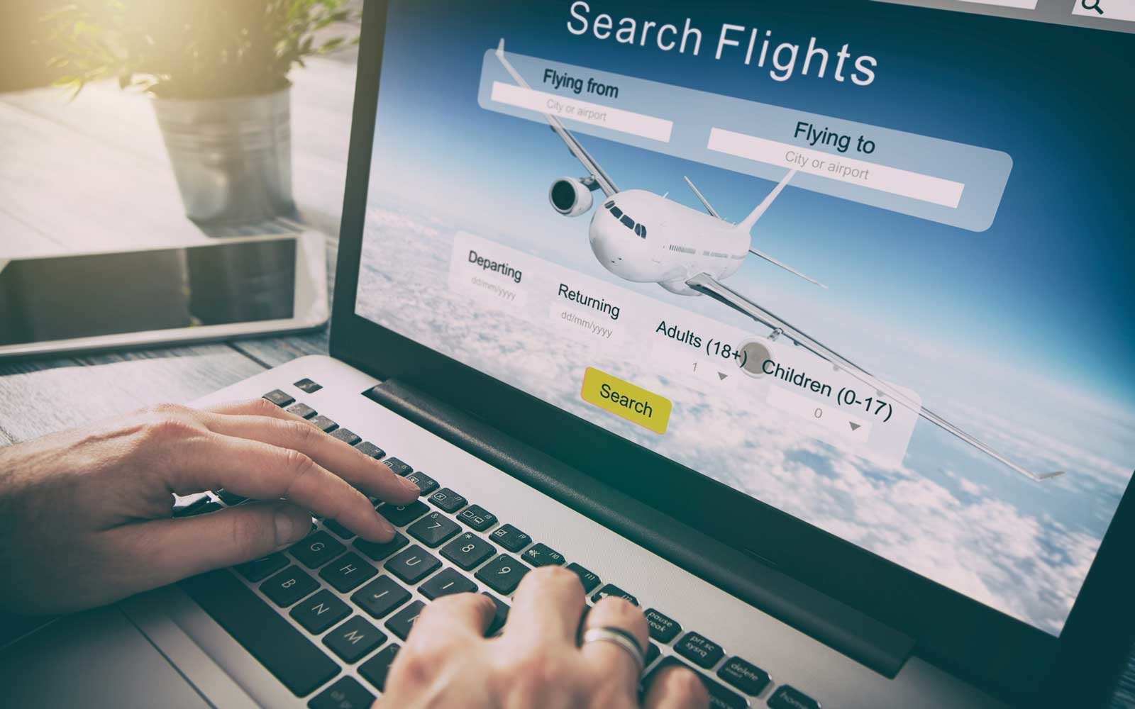 Airfare booking