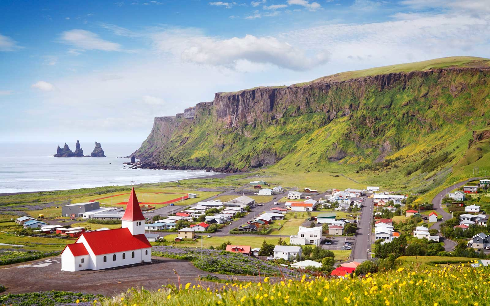 Via town, South Iceland