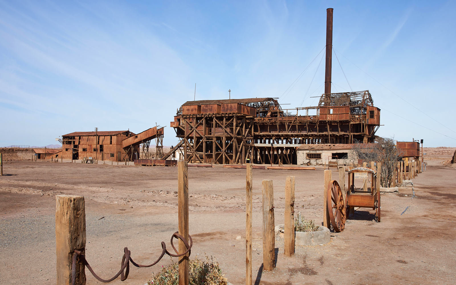 Humberstone and Santa Laura Saltpeter Works, Chile