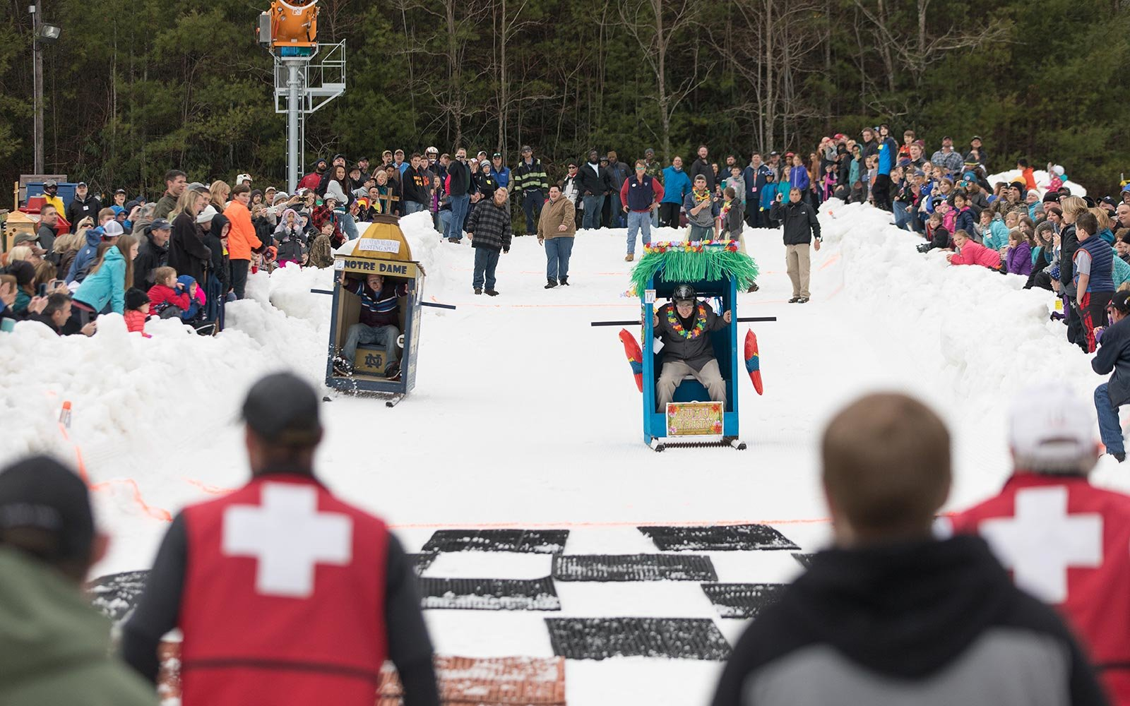 Cashiers Jackson County North Carolina Sapphire Valley Ski Race