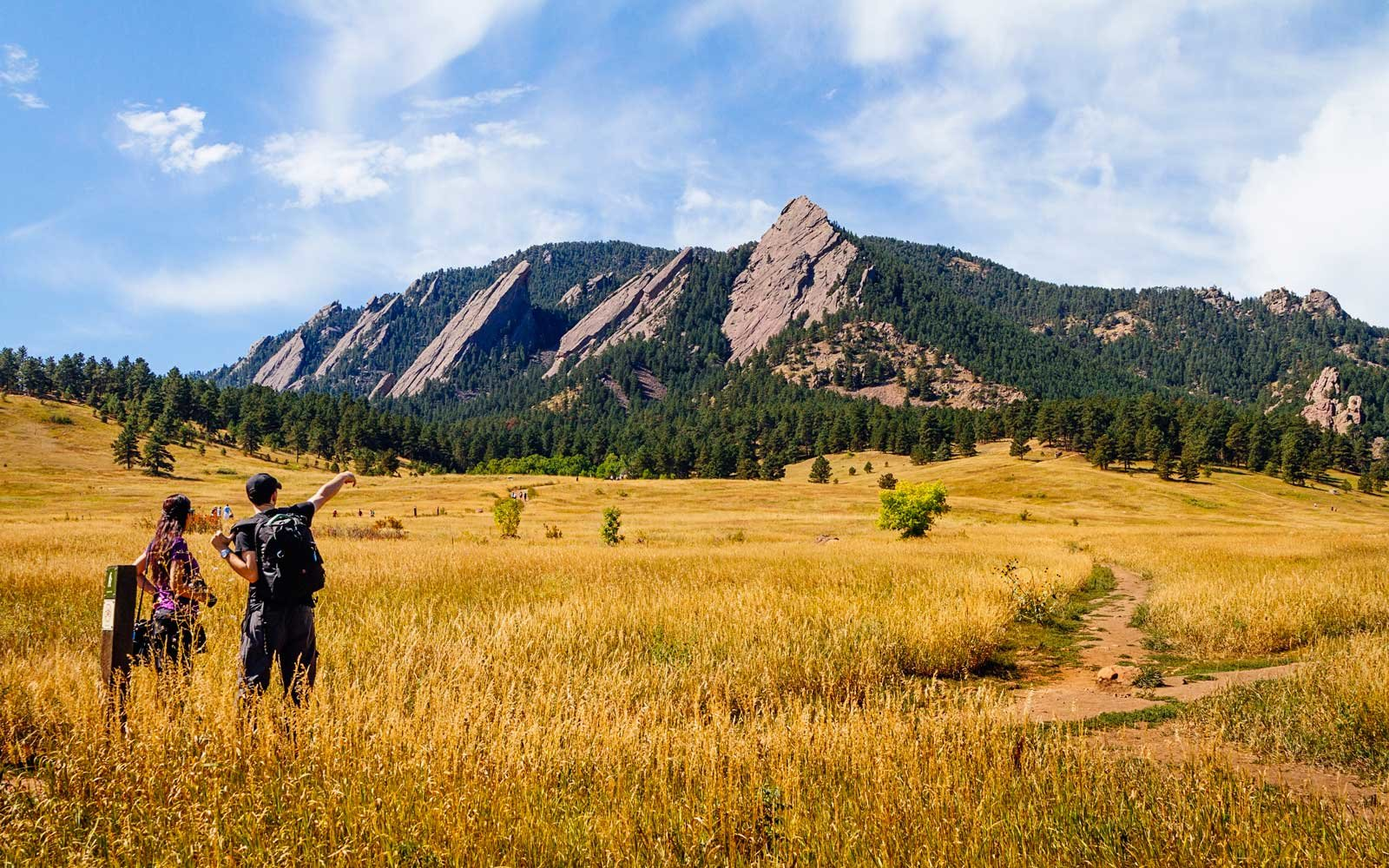 Hiking in the Flatirons
