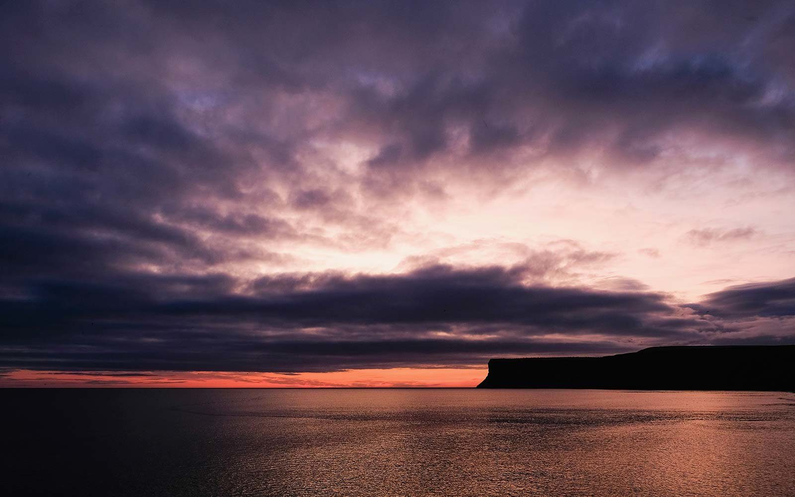 Pantone Purple Saltburn by the Sea England