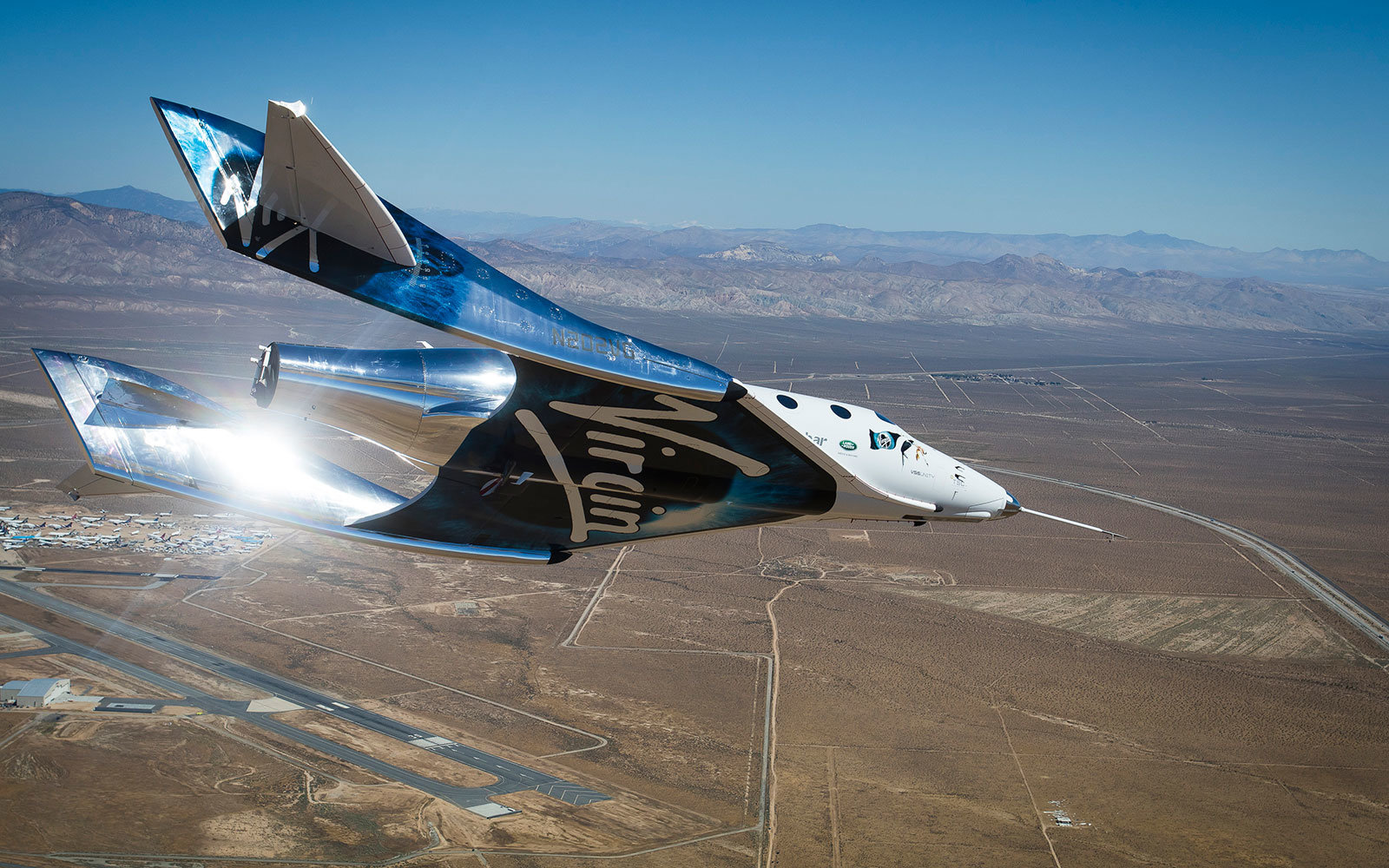 Virgin Galactic Tourist Spaceship VSS Unity