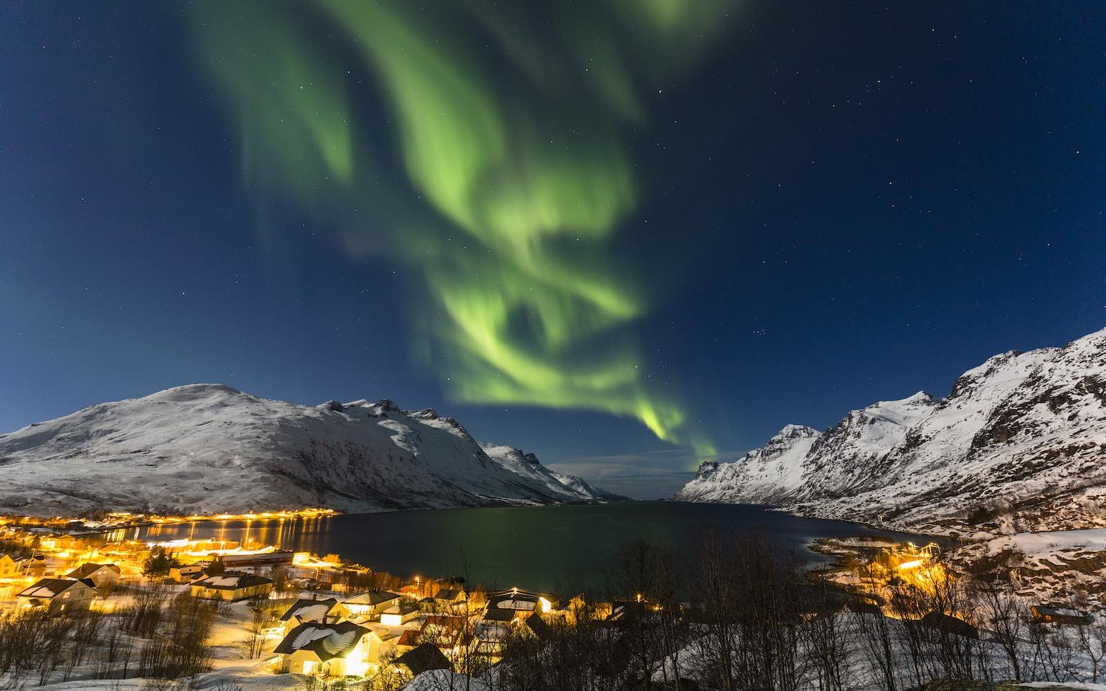 Aurora Borealis Northern Lights Tromso Norway