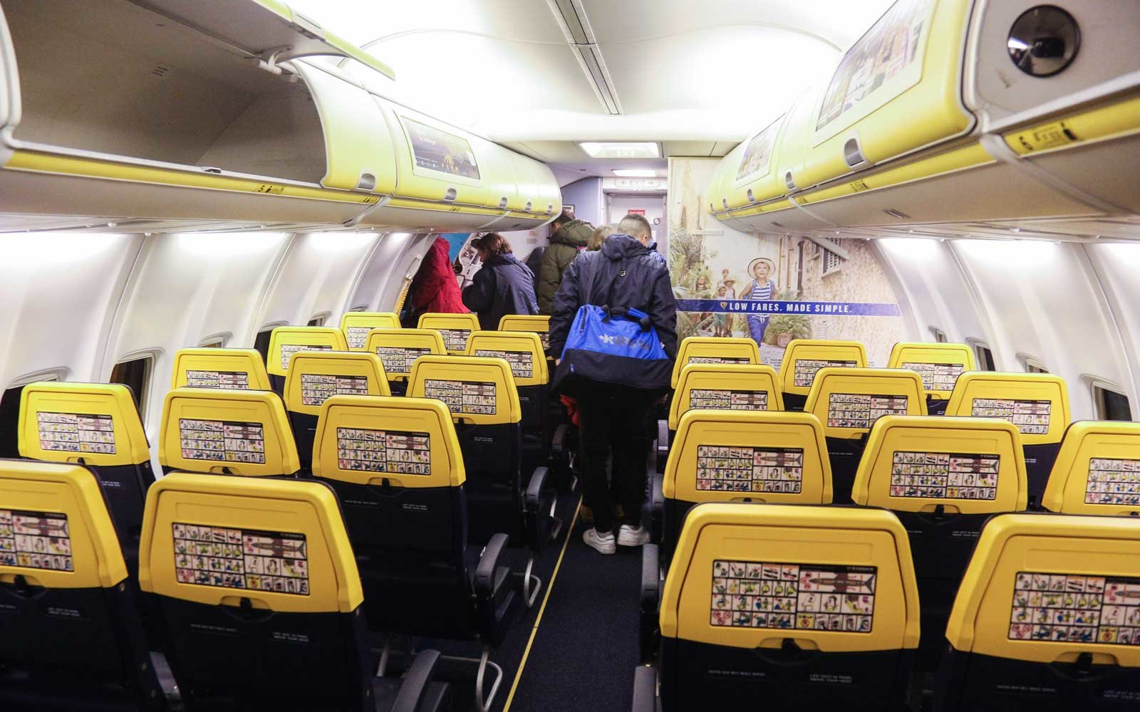 Changes to Ryanair's baggage system come into place tomorrow