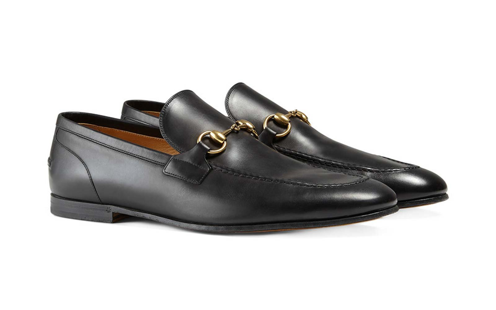 Loafers for Men, Black, Leather, 2017, 6 8 9 Gucci