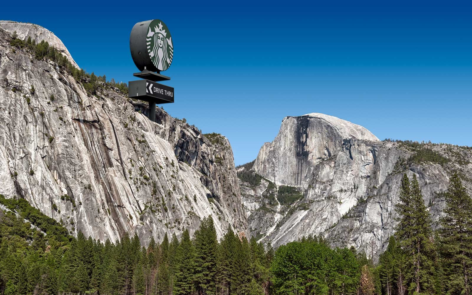Thousands of People Are Trying to Stop a Starbucks From Opening in Yosemite