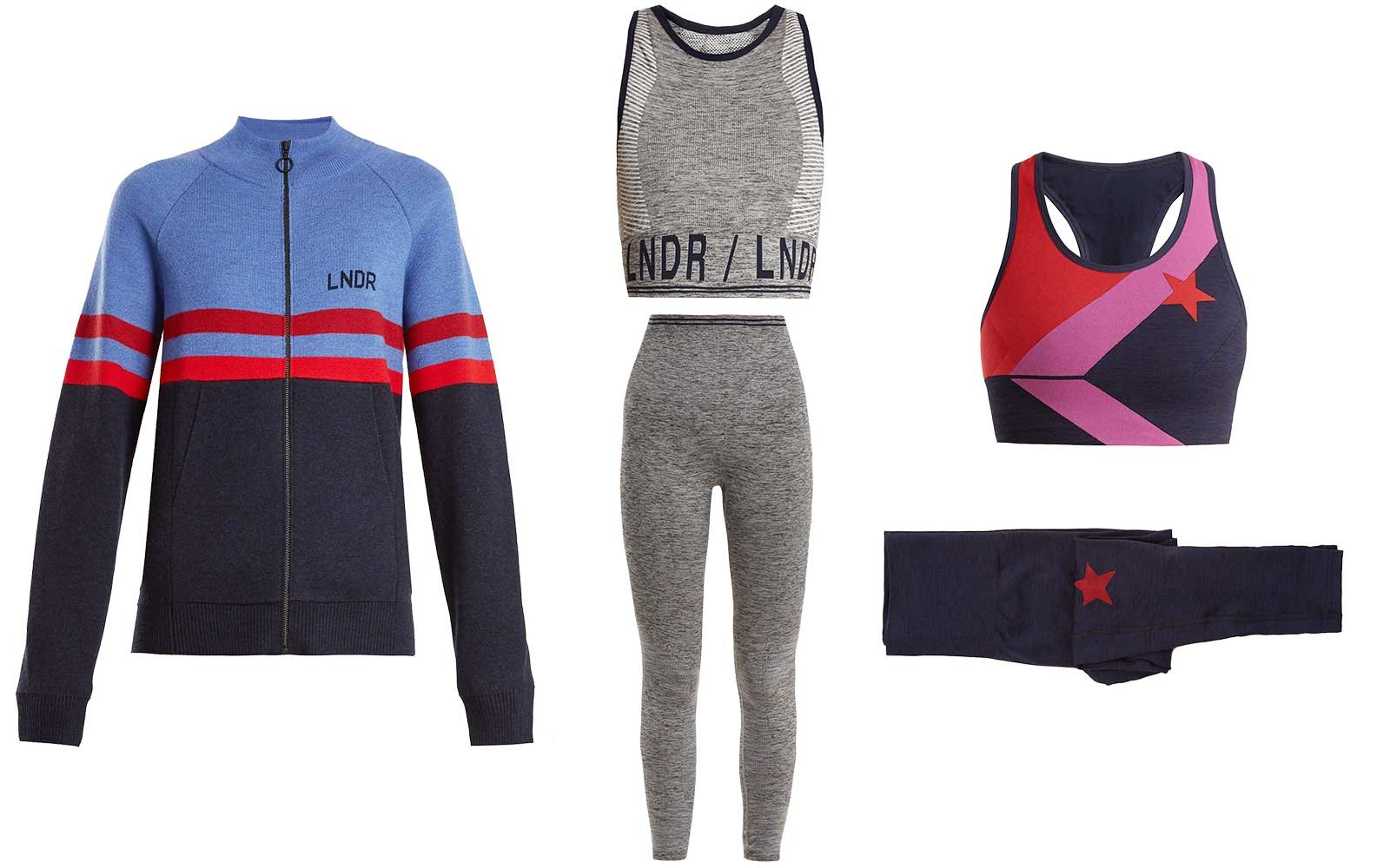 Retro activewear by LNDR