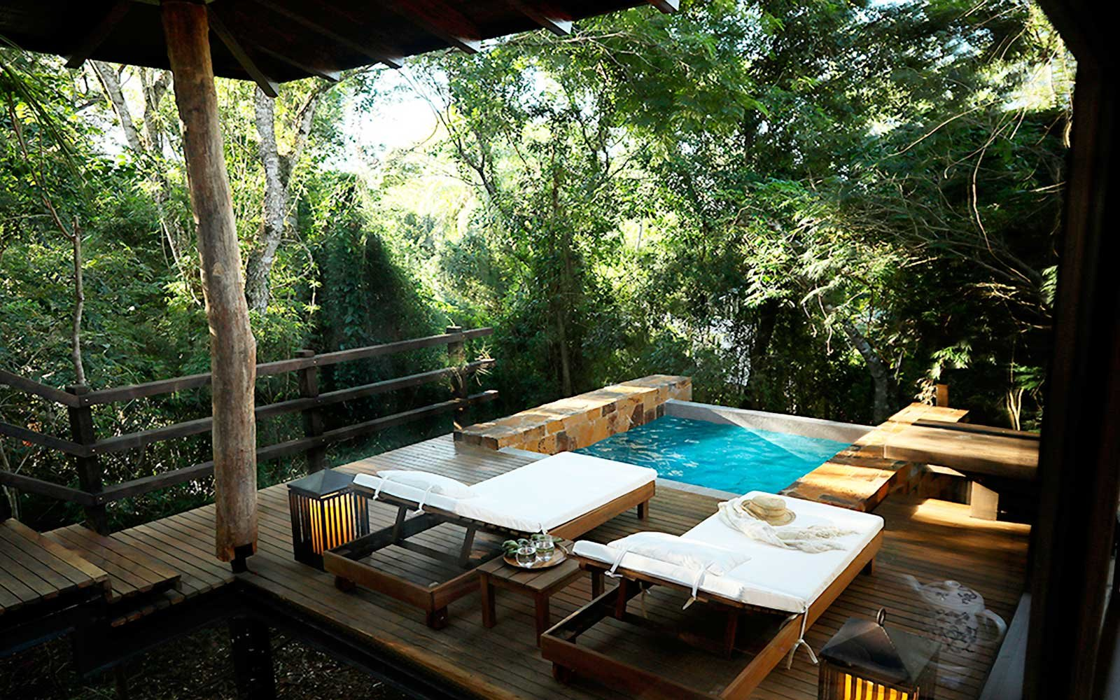 Villa pool at Awasi Iguazu Falls