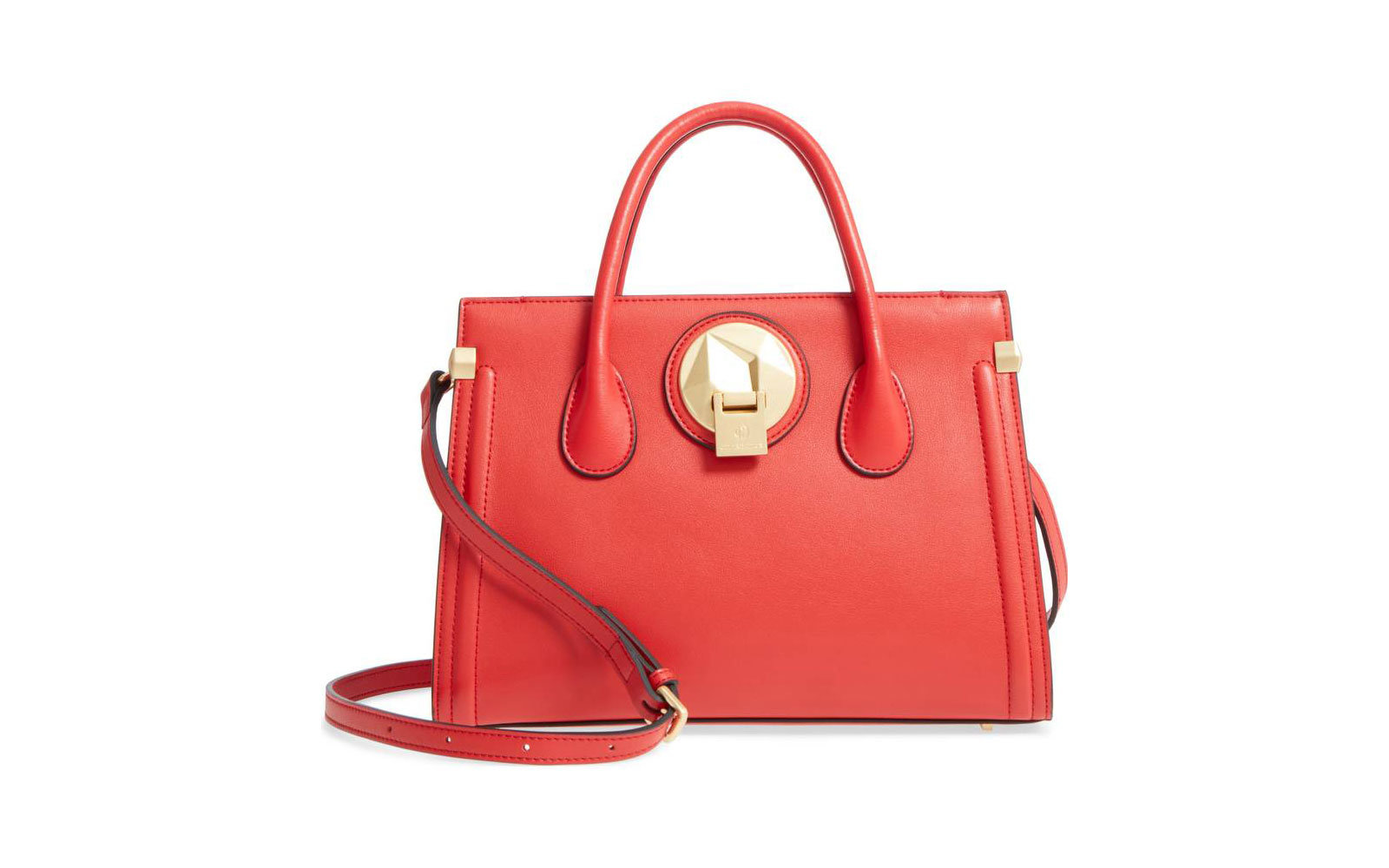 Celine Dion red tote