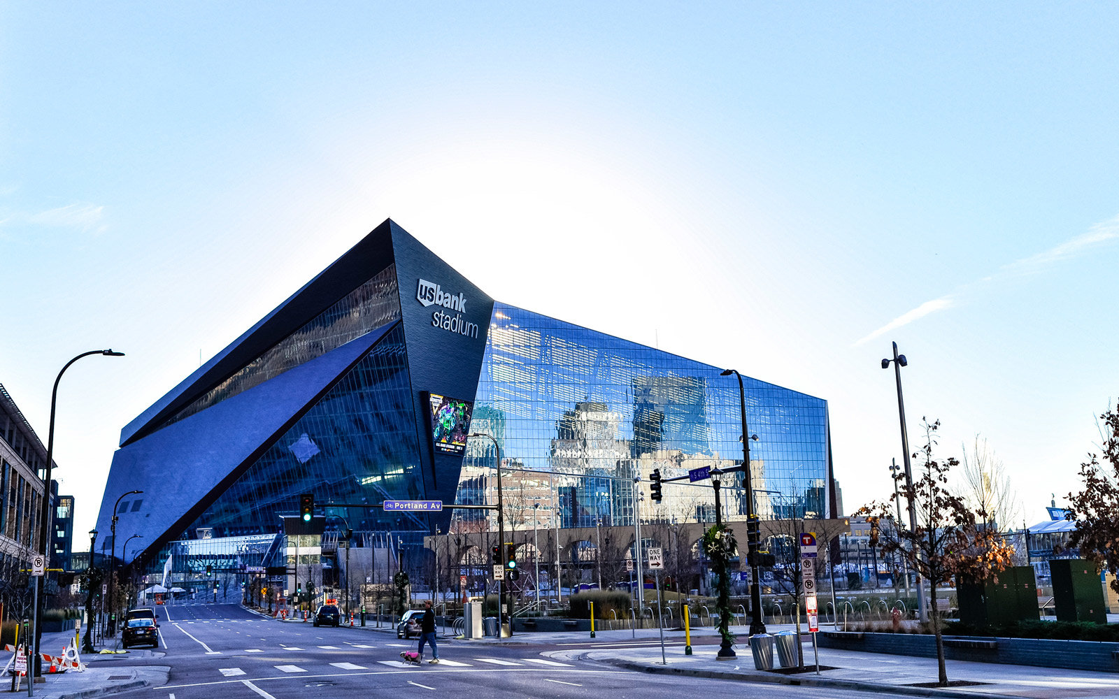US Bank Stadium in Downtown Minneapolis