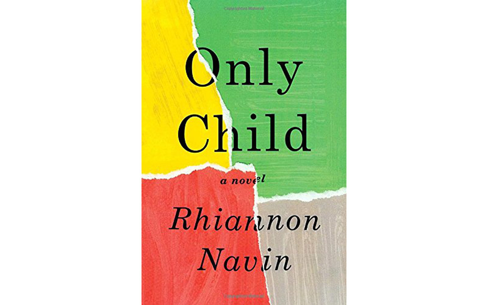 'Only Child' by Rhiannon Navin