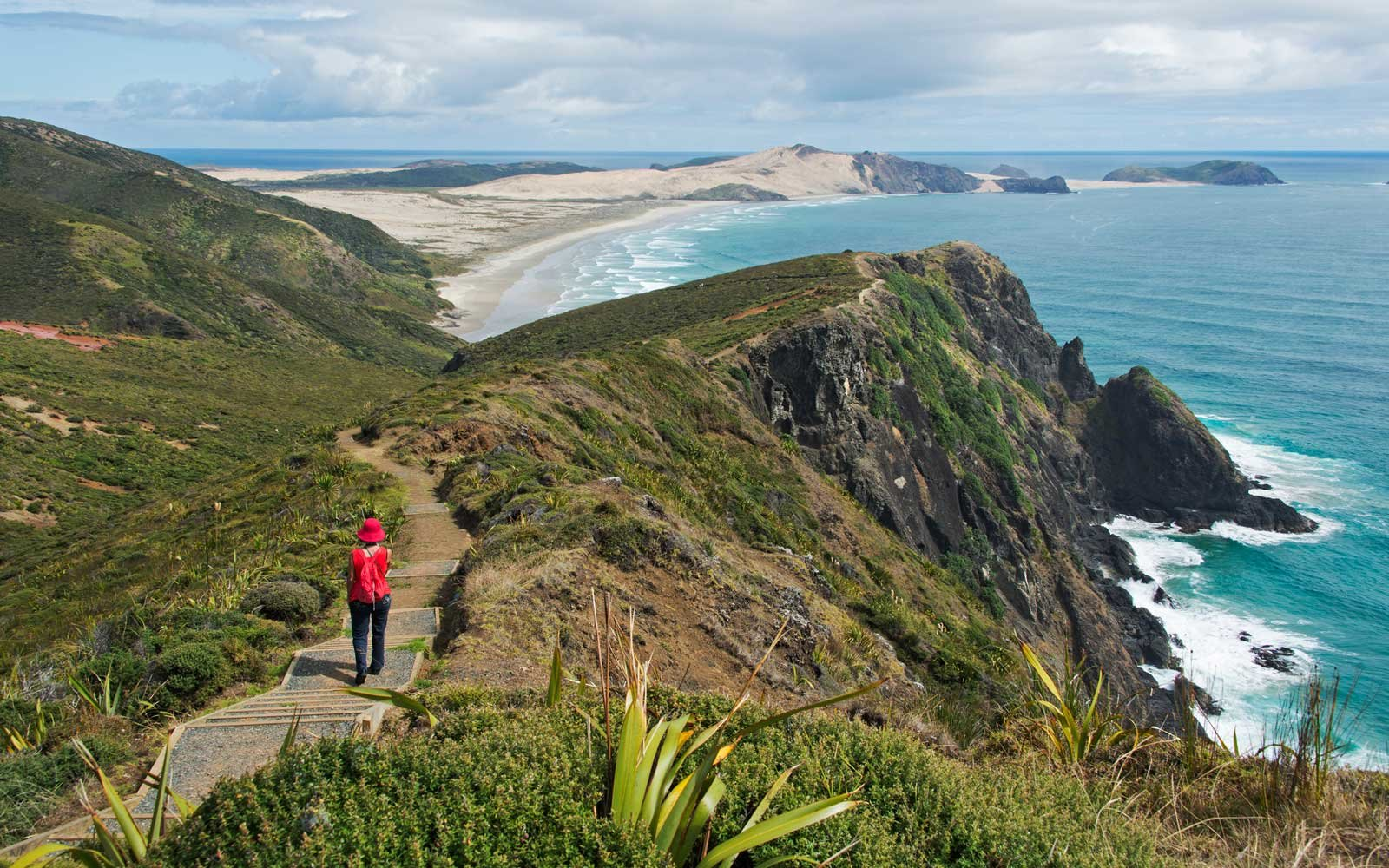 Cape Reinga, Aupouri Peninsula, Northland, New Zealand