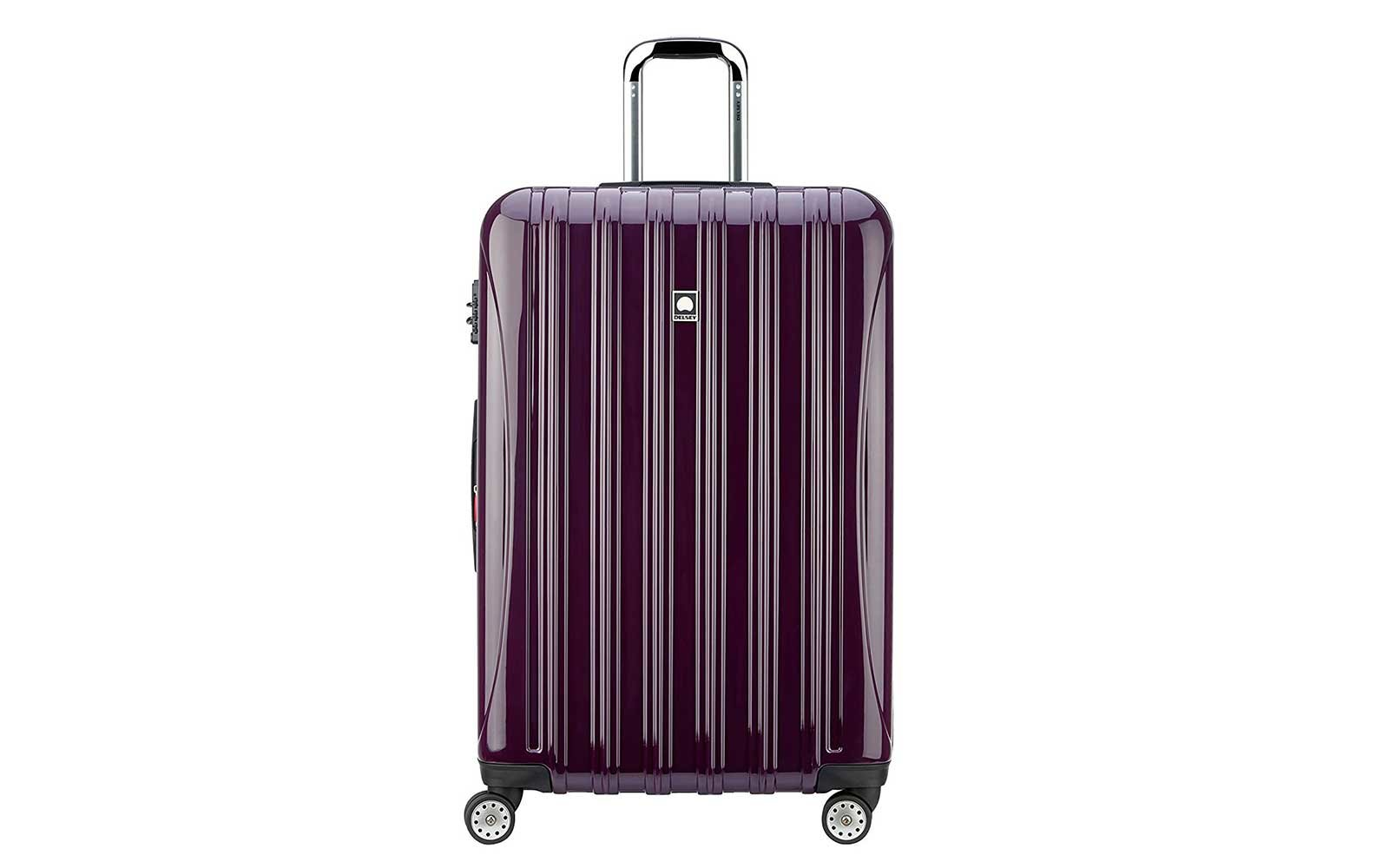 Delsey Luggage Helium Aero Expandable Spinner Trolley