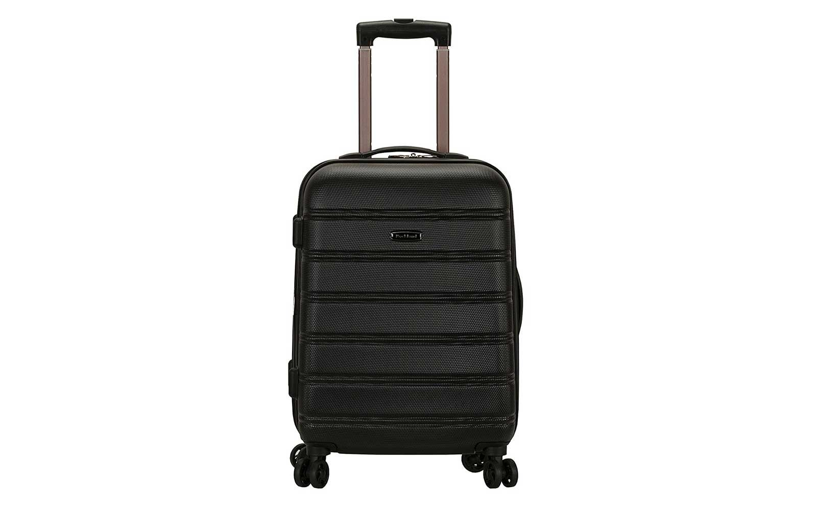 Rockland Melbourne 20-inch Expandable Carry-on Luggage