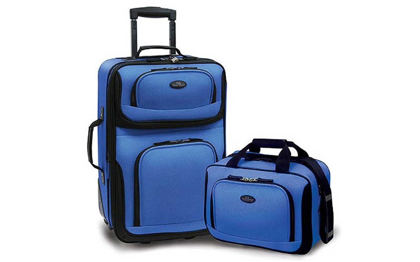 U.S Traveler Rio 2-Piece Expandable Luggage Set