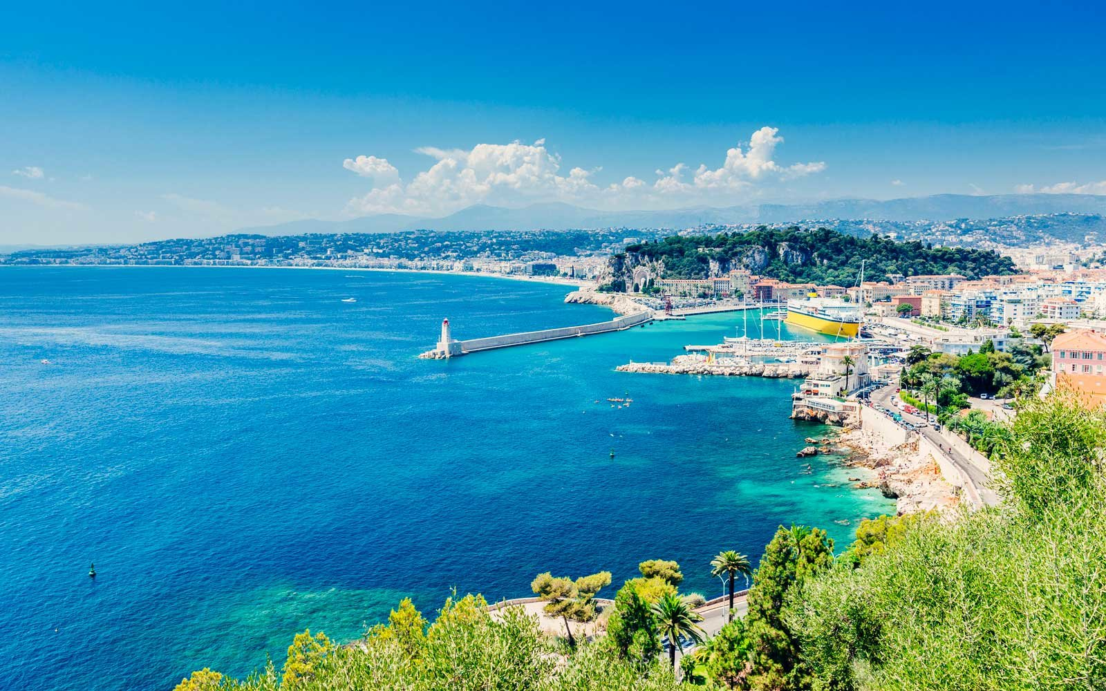 Spend Winter In The French Riviera For 423 Round Trip