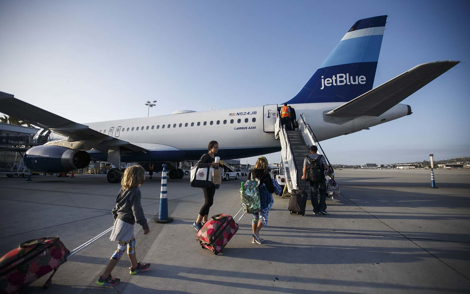 JetBlue Airbus A320 Airplane