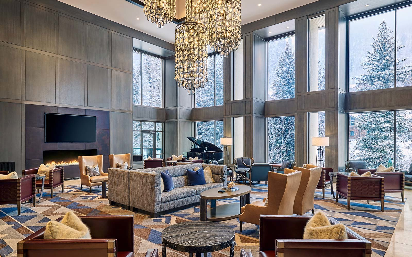This Luxury Ski Resort In Vail Has Its Own S Mores Butler
