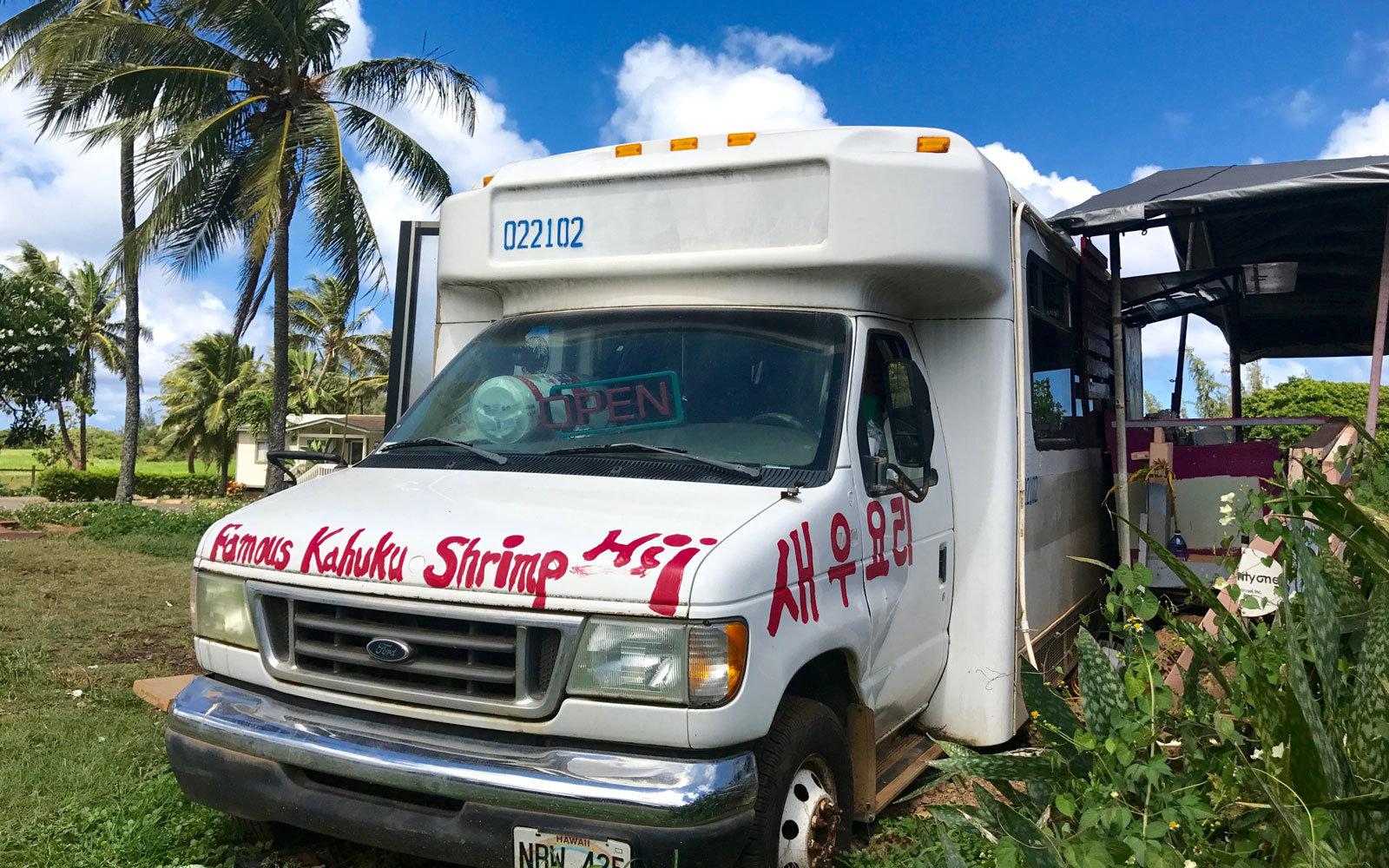 Kahuku Shrimp Trucks