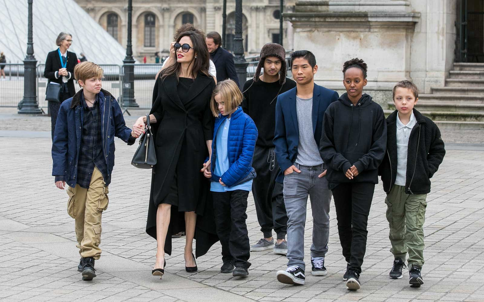 Image result for angelina jolie and her kids