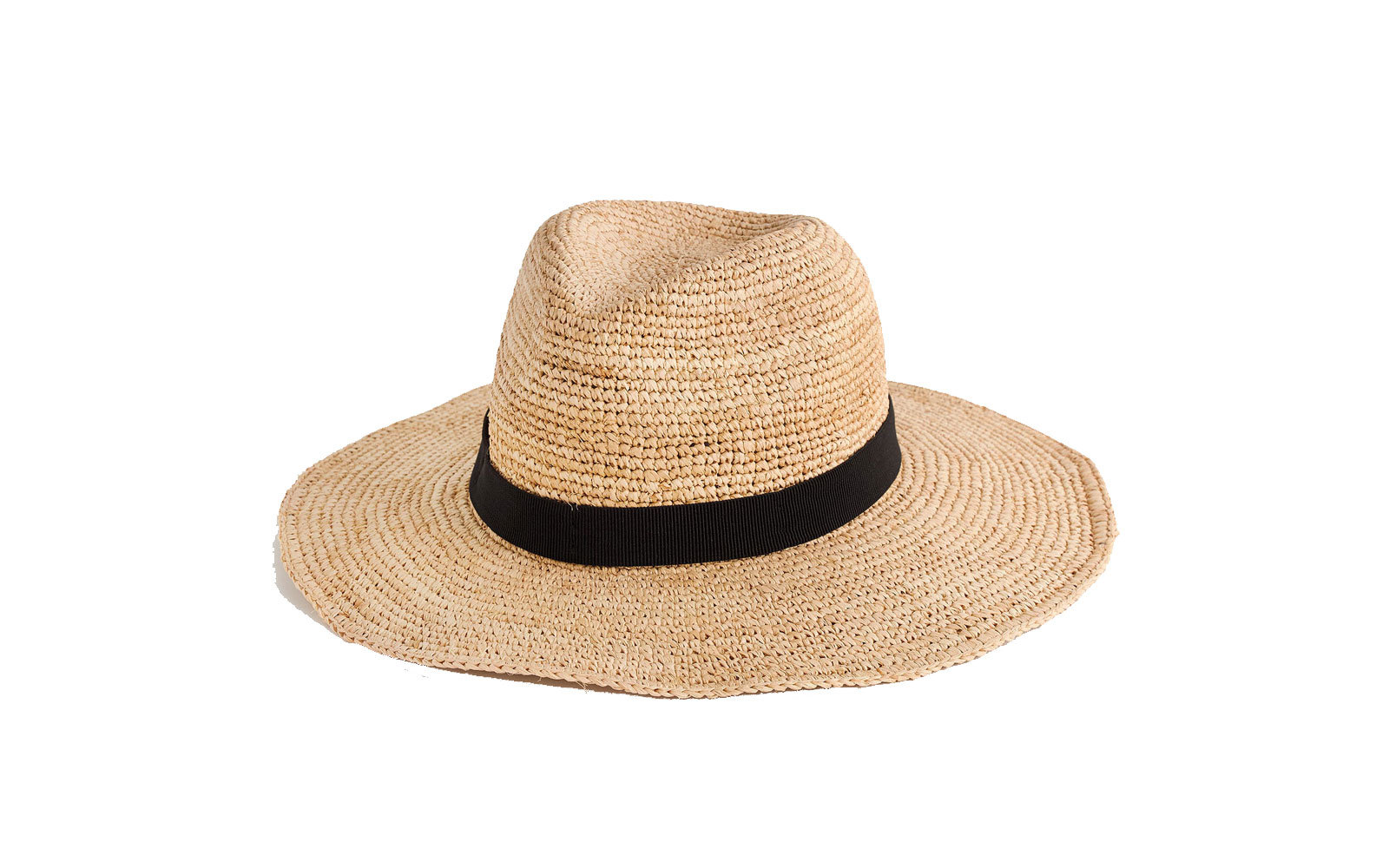 J.Crew foldable straw hat