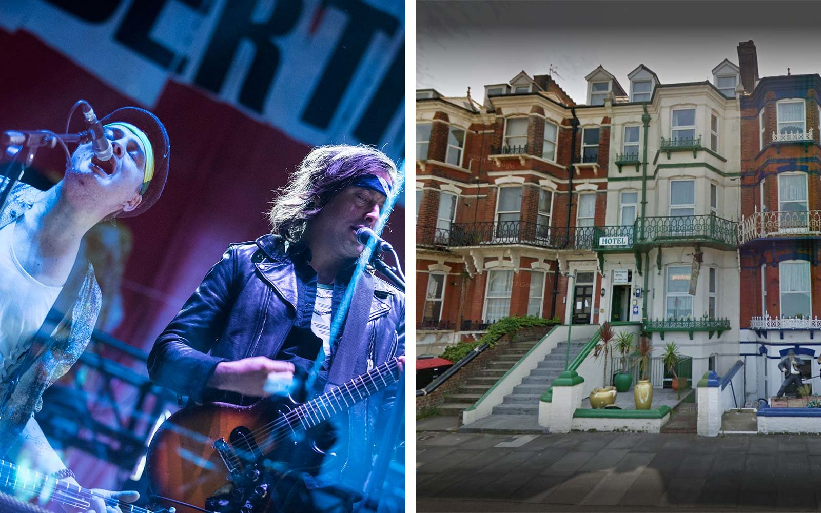 The Libertines Albion Rooms Hotel Margate UK