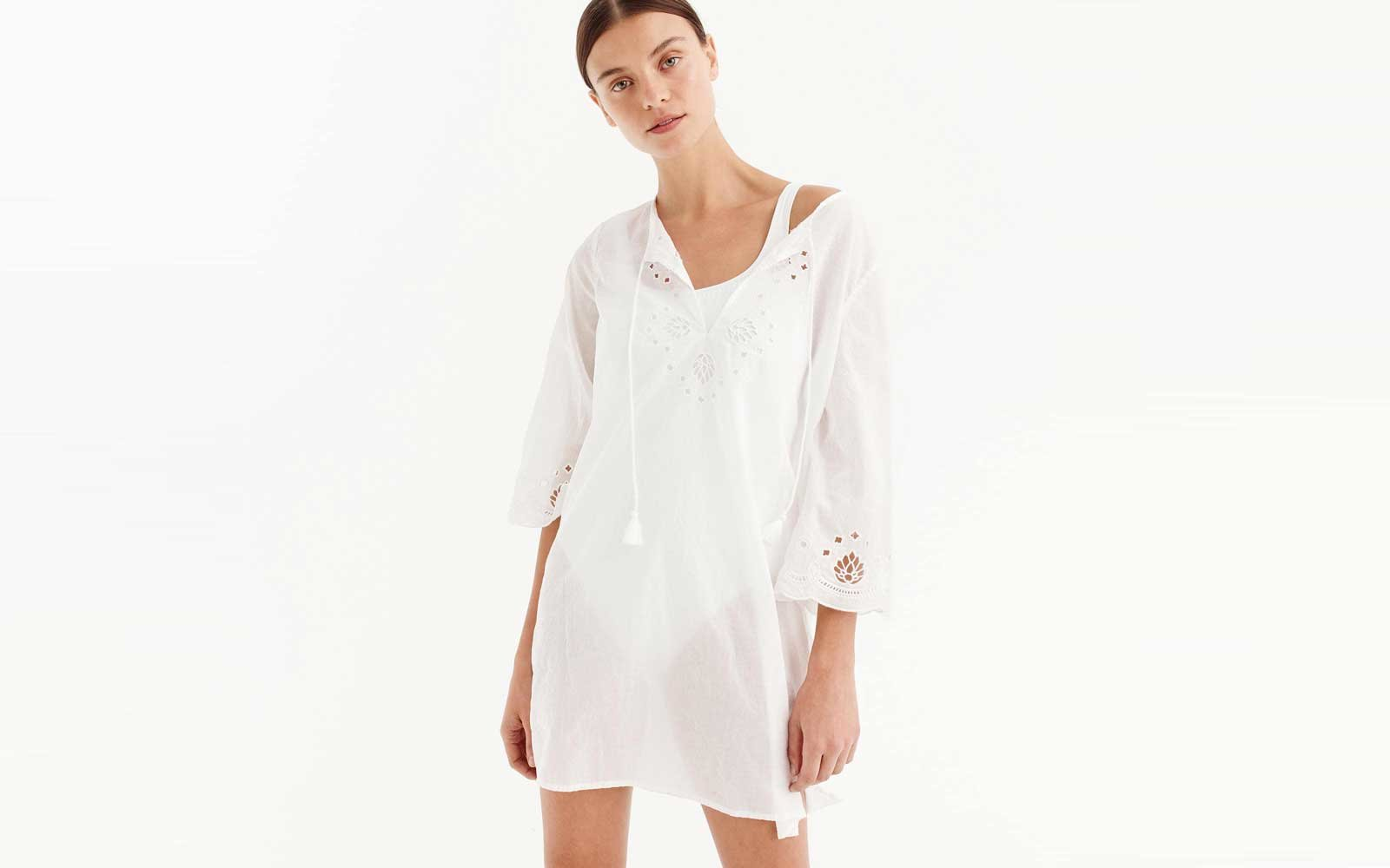 J.Crew cotton beach cover-up