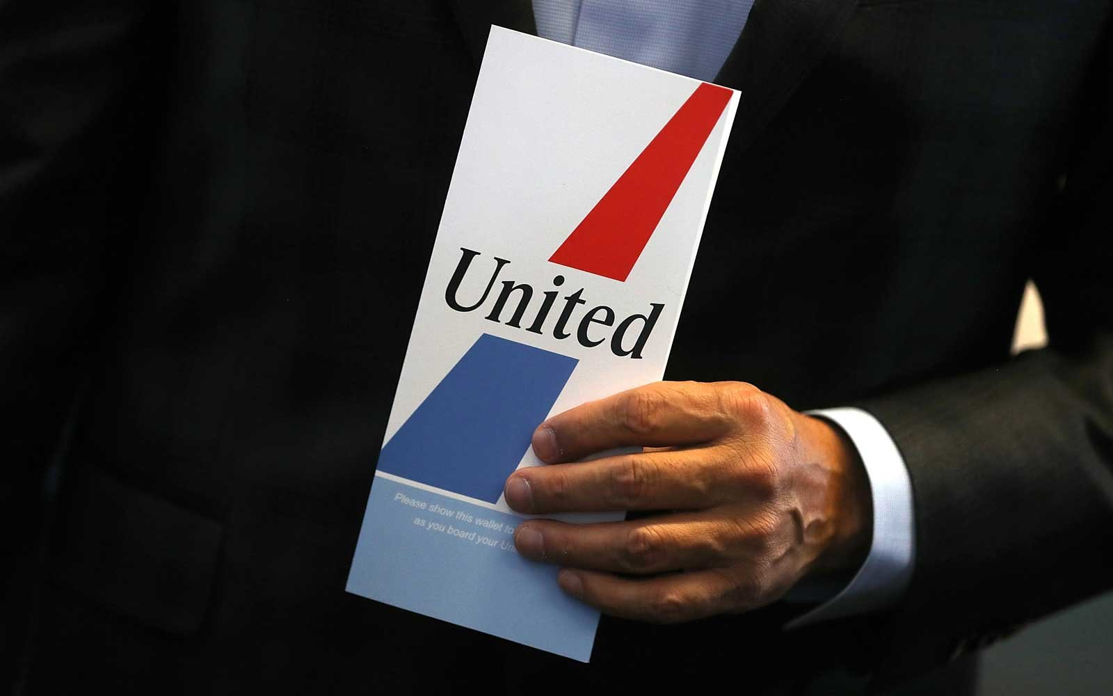 Old United Airlines Ticket