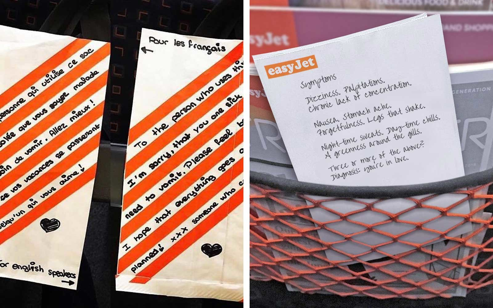 Easy Jet airplane love poems