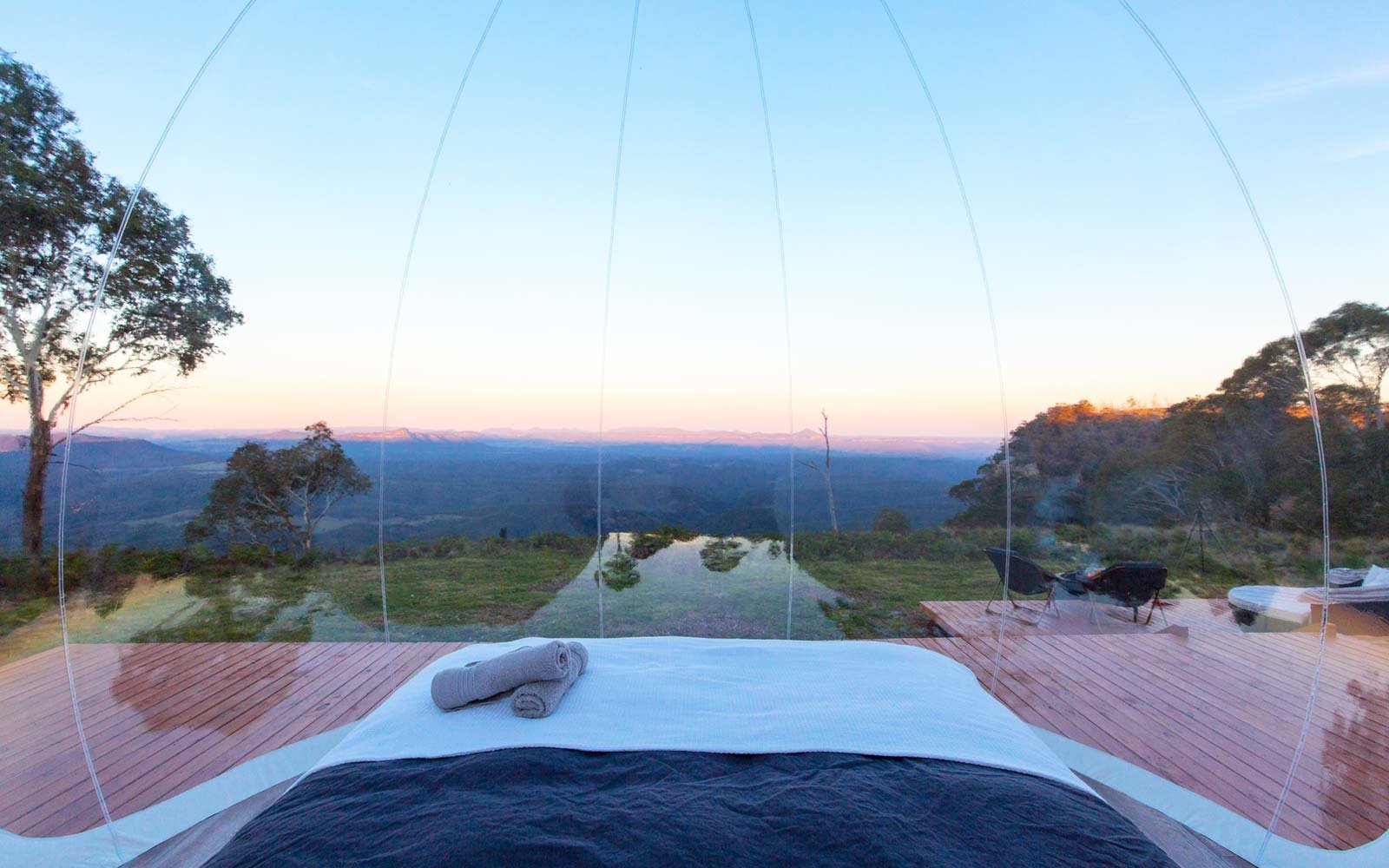 Sleep Under The Stars In A Bubble Tent In Australia