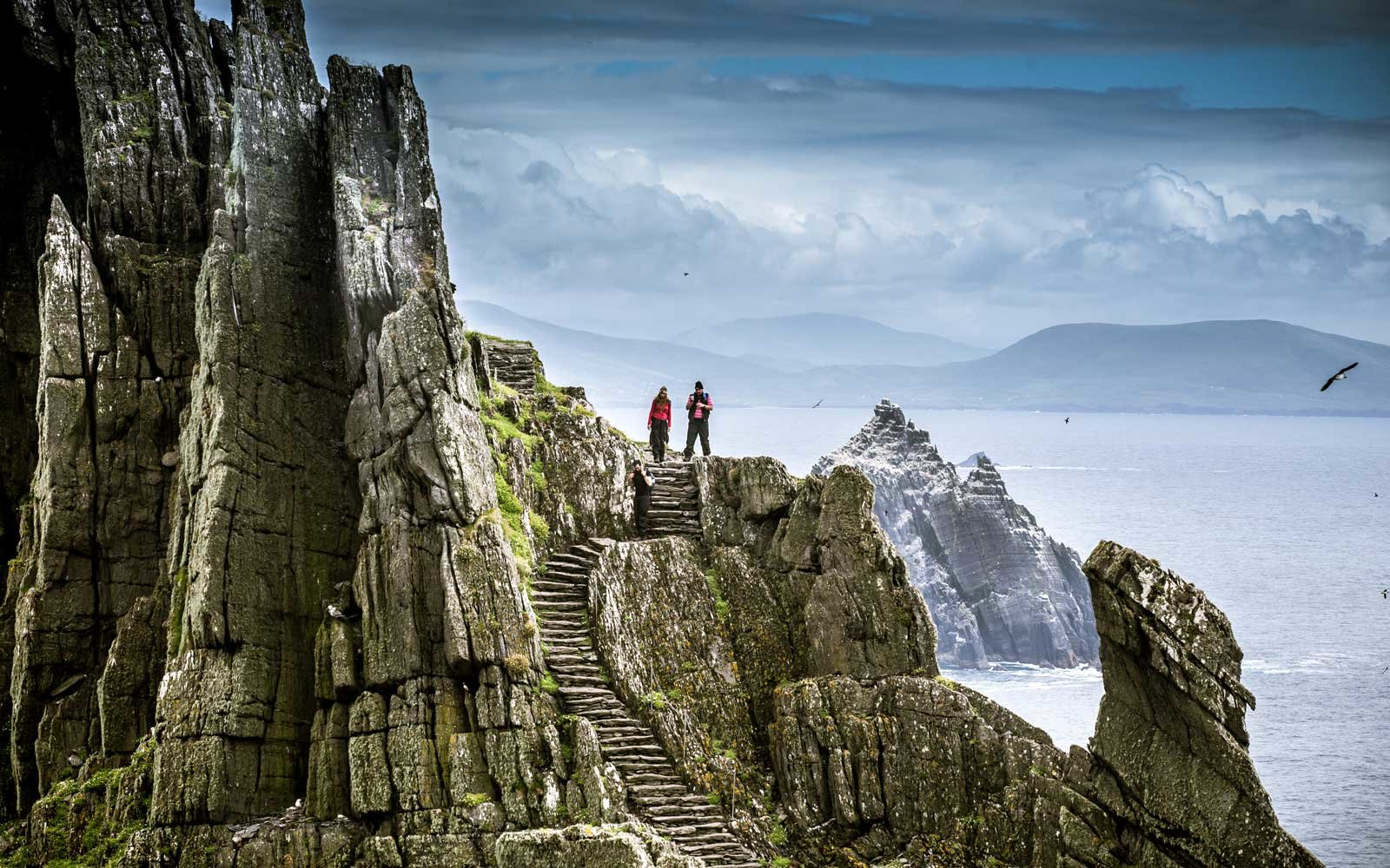 UNESCO Skellig Rocks, site of filming in Star Wars movies