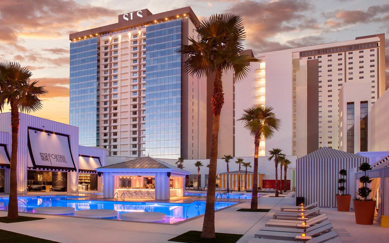 SLS hotel on the Las Vegas strip