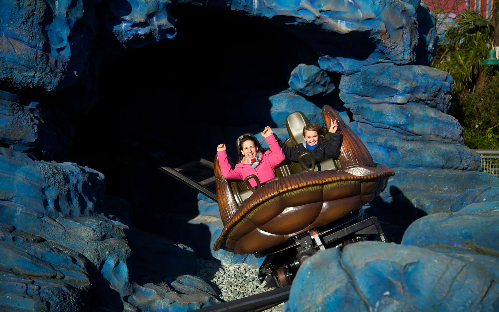 Crsh Coaster in Disneyland Paris