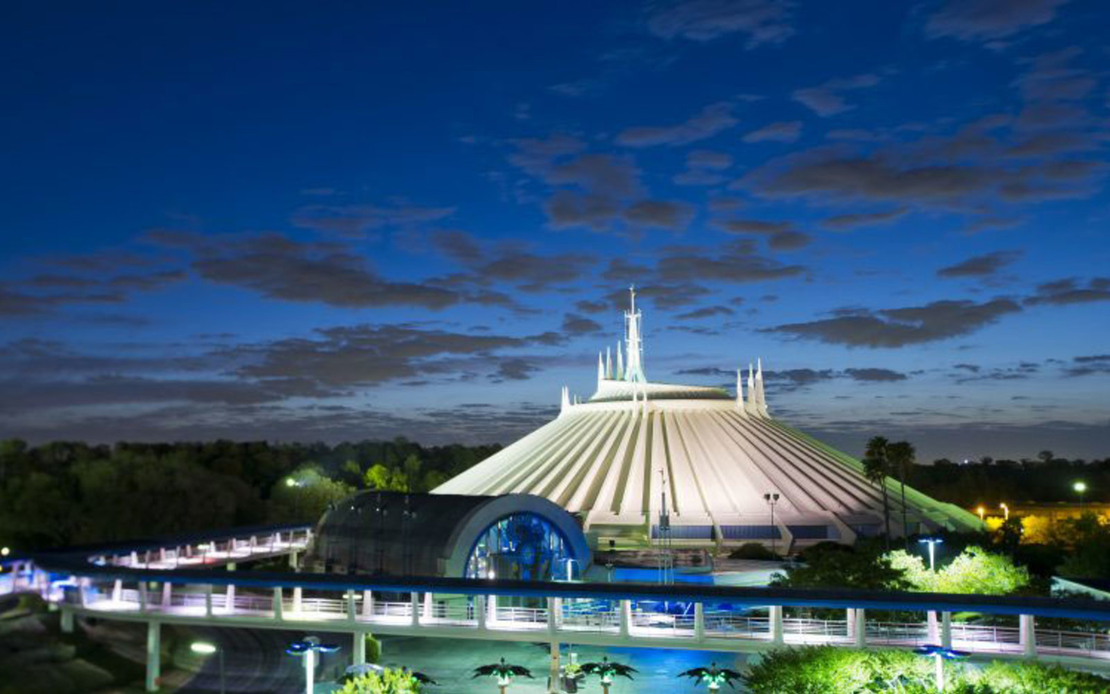 Space Mountain — Disneyland